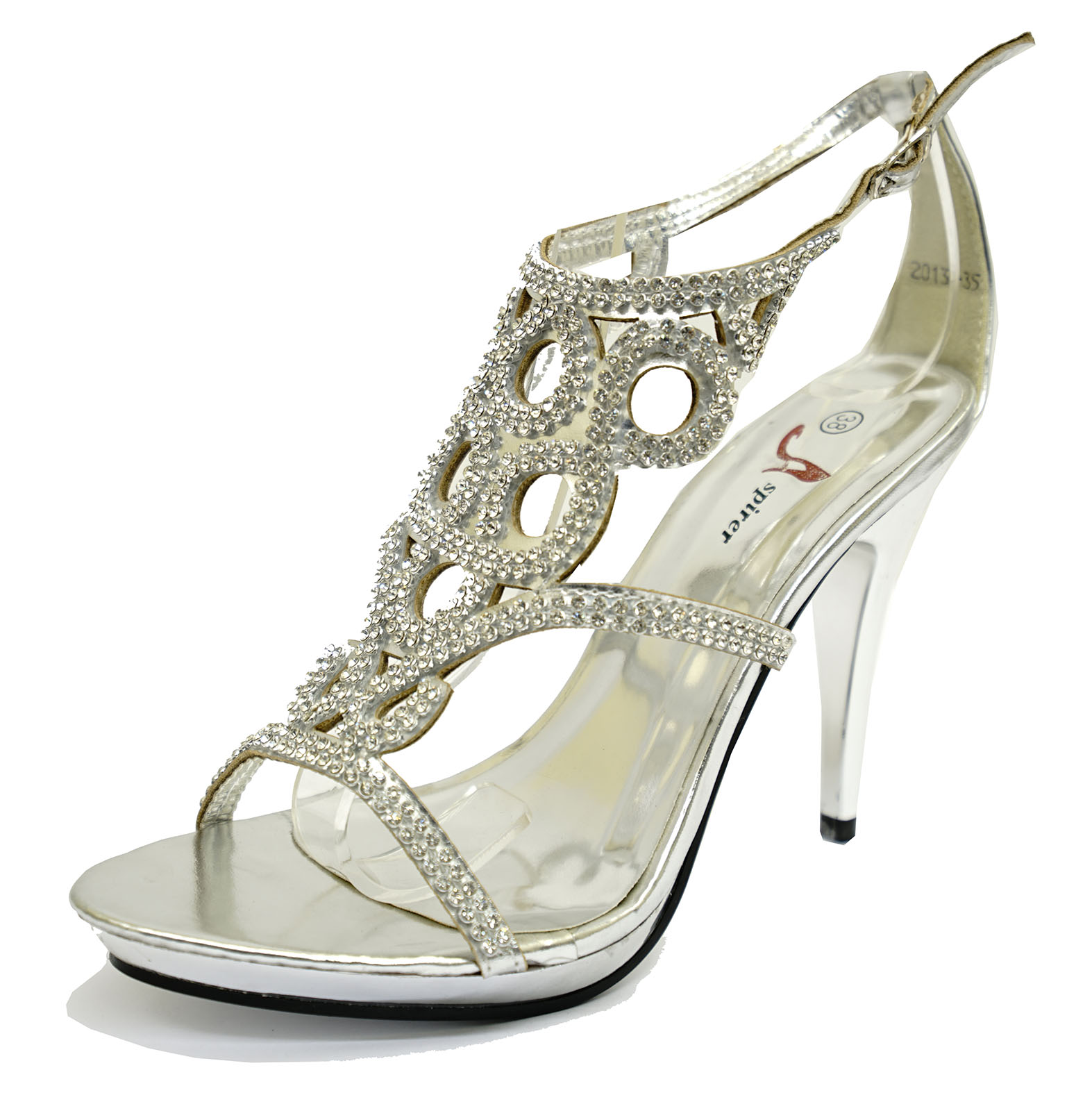 bridesmaid wedding shoes womens silver bridesmaid wedding bridal diamante 2084