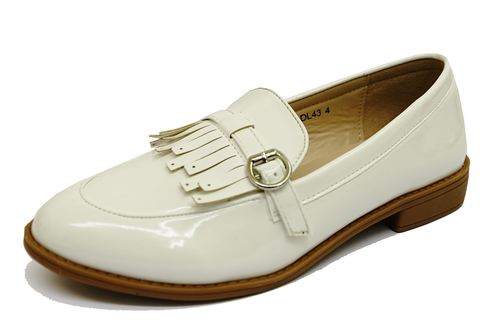 b992024a294 CENTINELA BLANCO SLIP-ON ZAPATOS MOCASÍN TRABAJO SMART CASUAL ZAPATOS  PLANOS COMFY UK 3-8