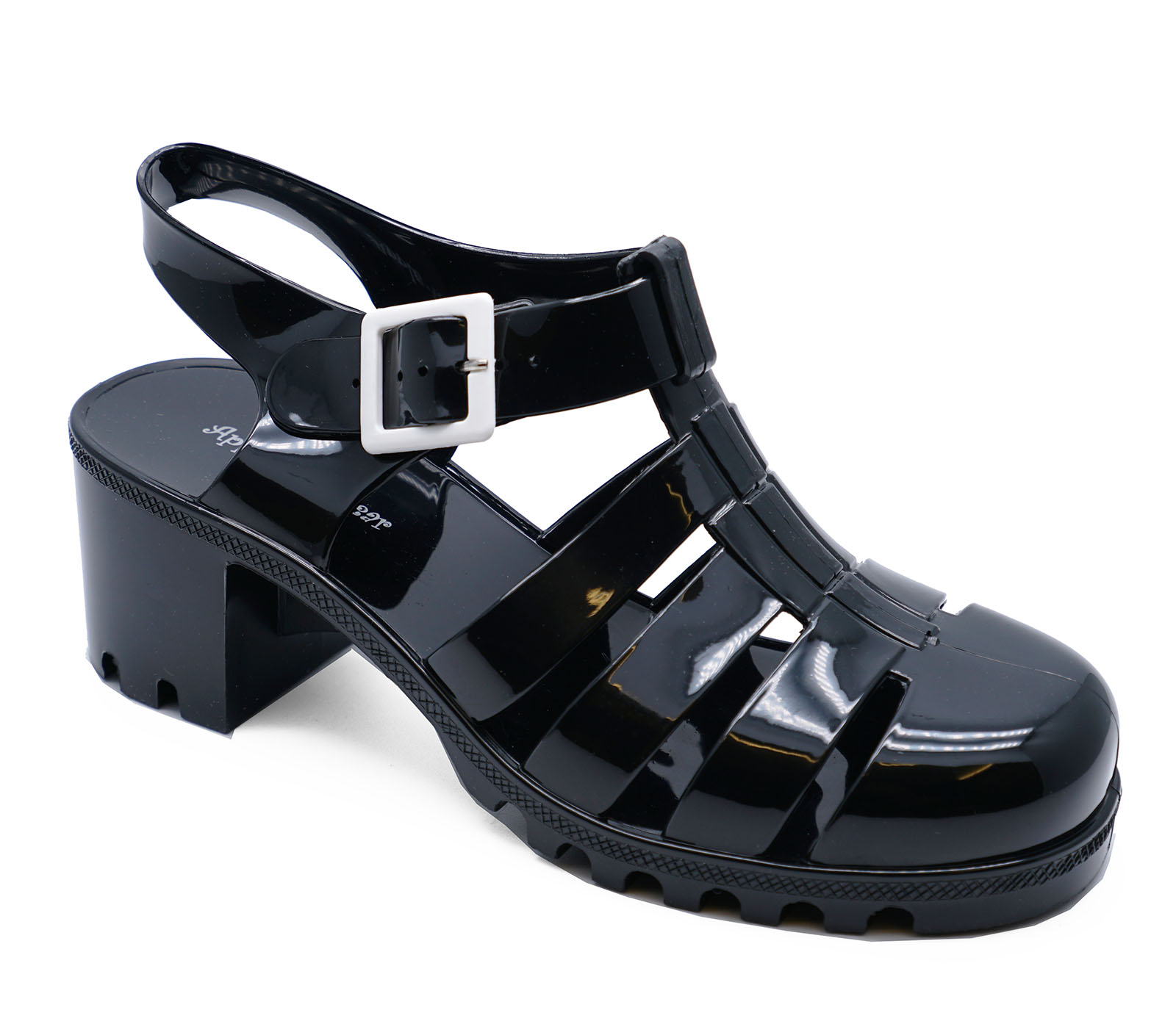 dafdfb484f80f Sentinel LADIES BLACK JELLY GLADIATOR RETRO SANDALS FESTIVAL BEACH HOLIDAY  SHOES UK 3-8