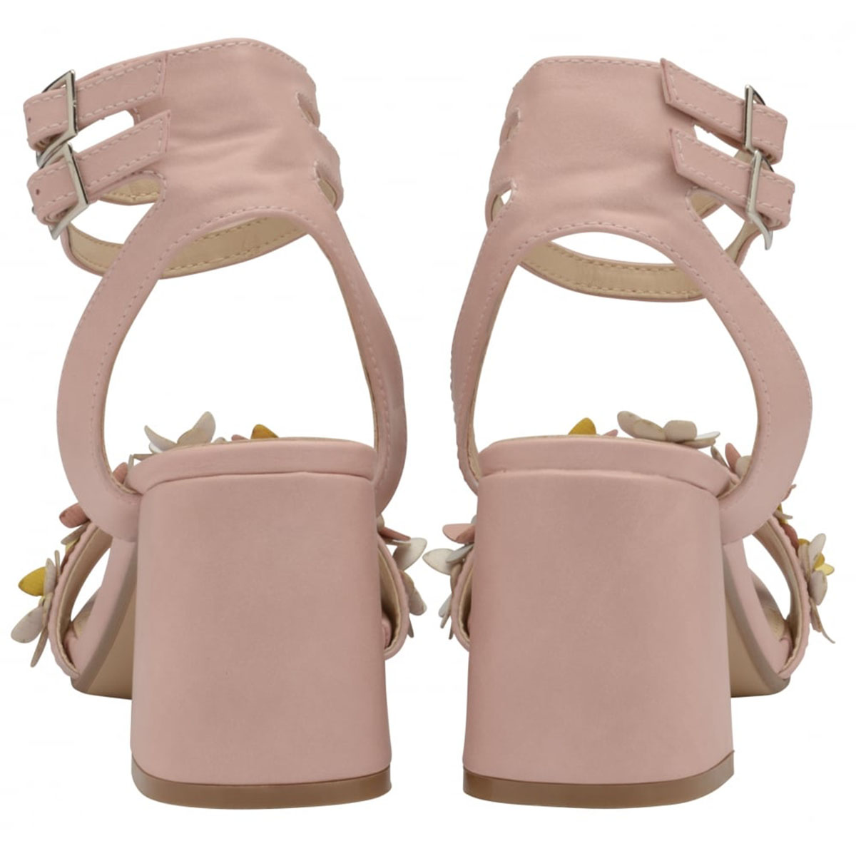 7b956a7baef7 Sentinel LADIES DOLCIS NIAMH PINK BLOCK HEEL ANKLE PEEP-TOE SANDALS STRAPPY  SHOES UK 3-