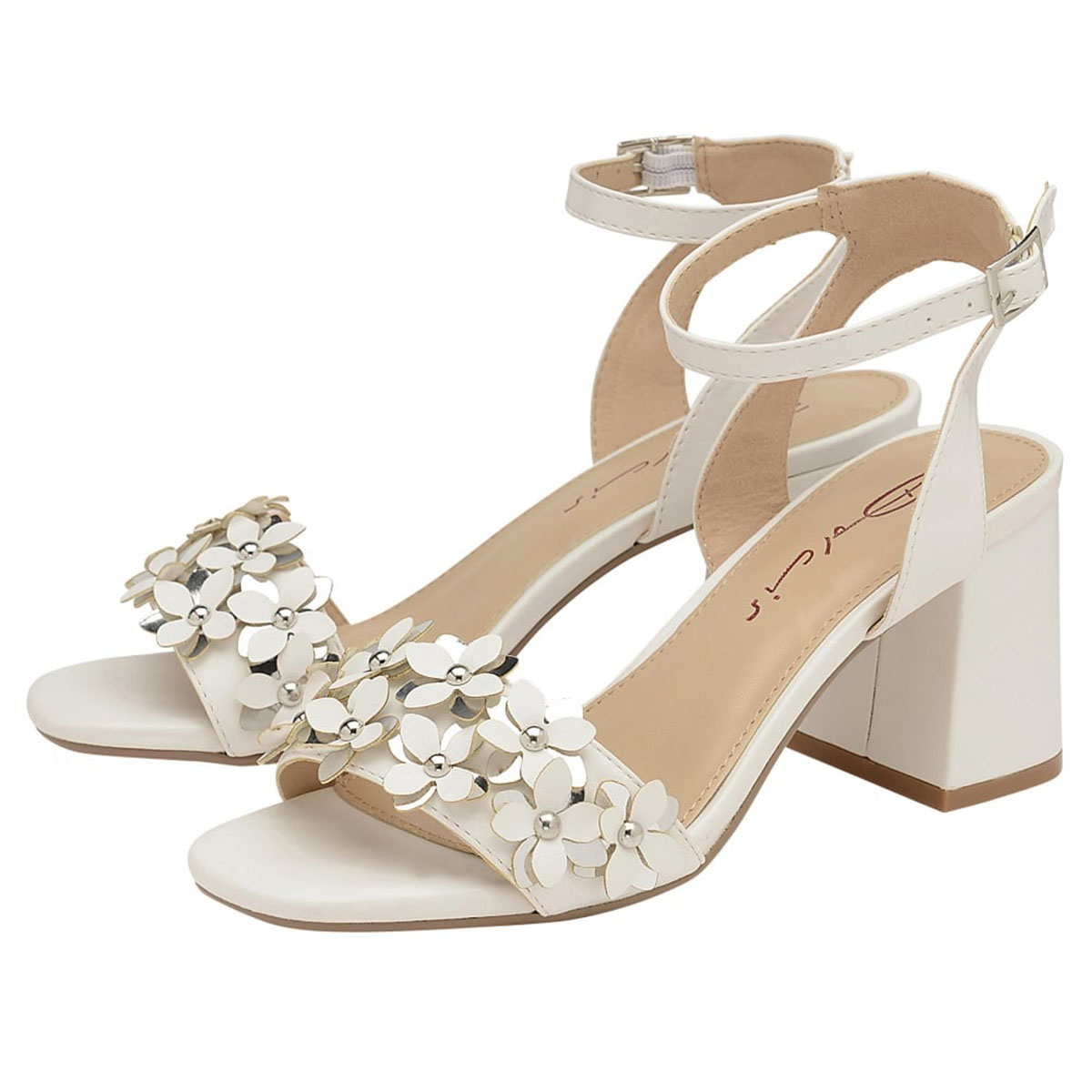 8b0de44fb839 Sentinel WOMENS DOLCIS NIAMH WHITE OPEN-TOE SUMMER STRAPPY COMFY SANDALS  SHOES UK 3-8