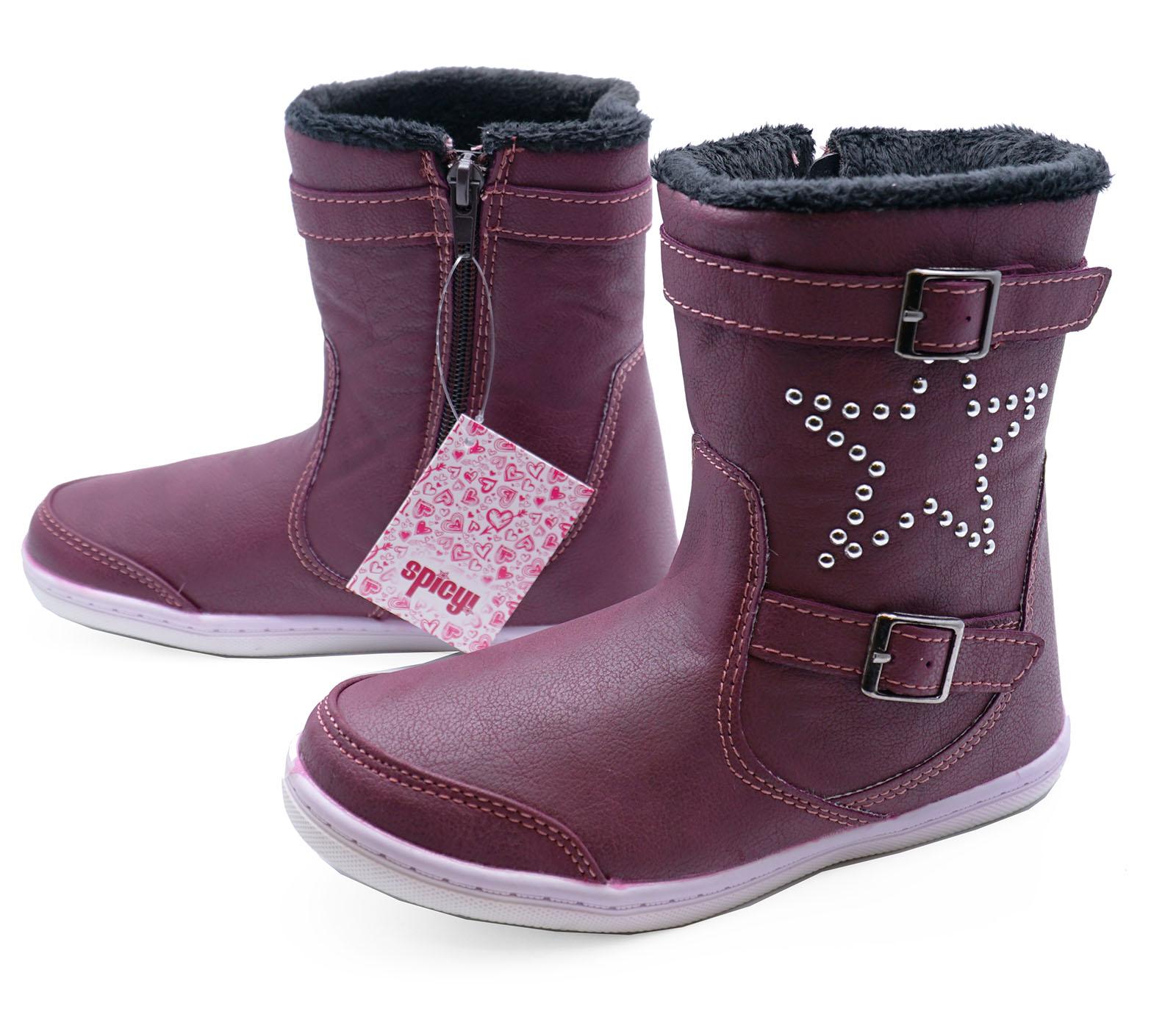Chaussures Lila D'hiver Pour Les Enfants oySuAaQRc