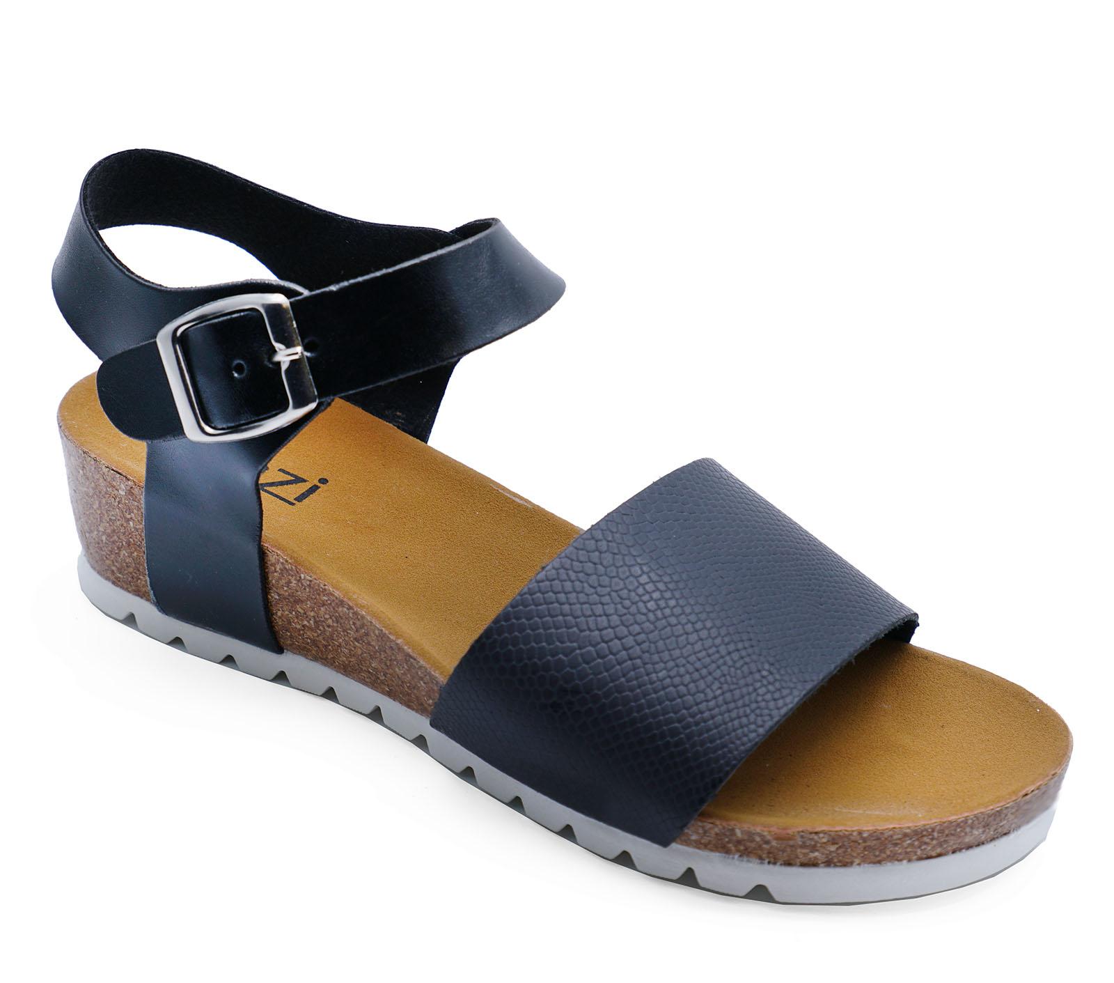 3 Black toe Walking Holiday Sandals Open Flip Shoes Summer Wedges flop Ladies 8 f6aPxwqP
