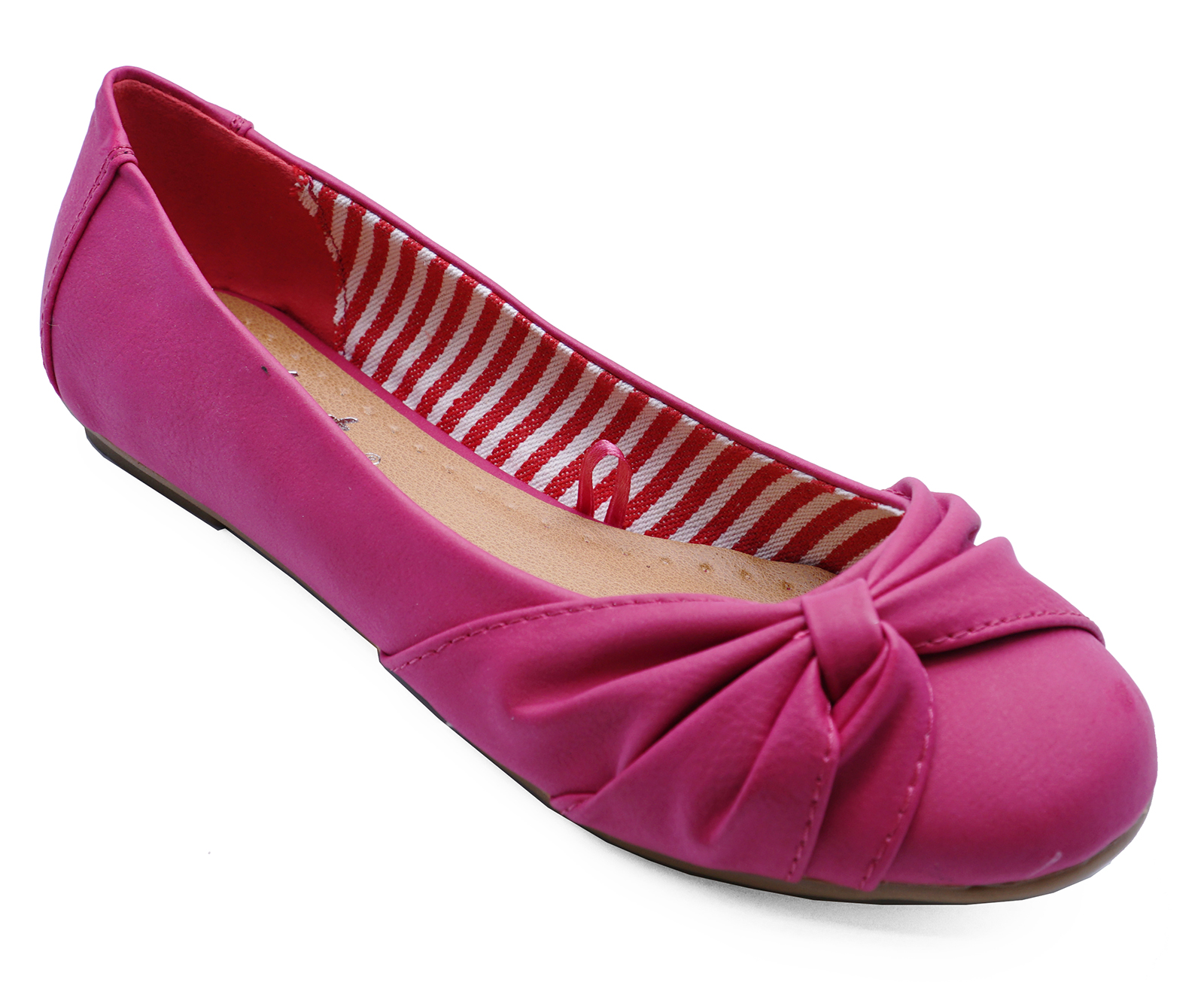 Comfy Casual on Ballet Work Pink Slip Flat 8 2 Pumps Ladies Dolly Sizes Shoes Hq8TnCZxXw