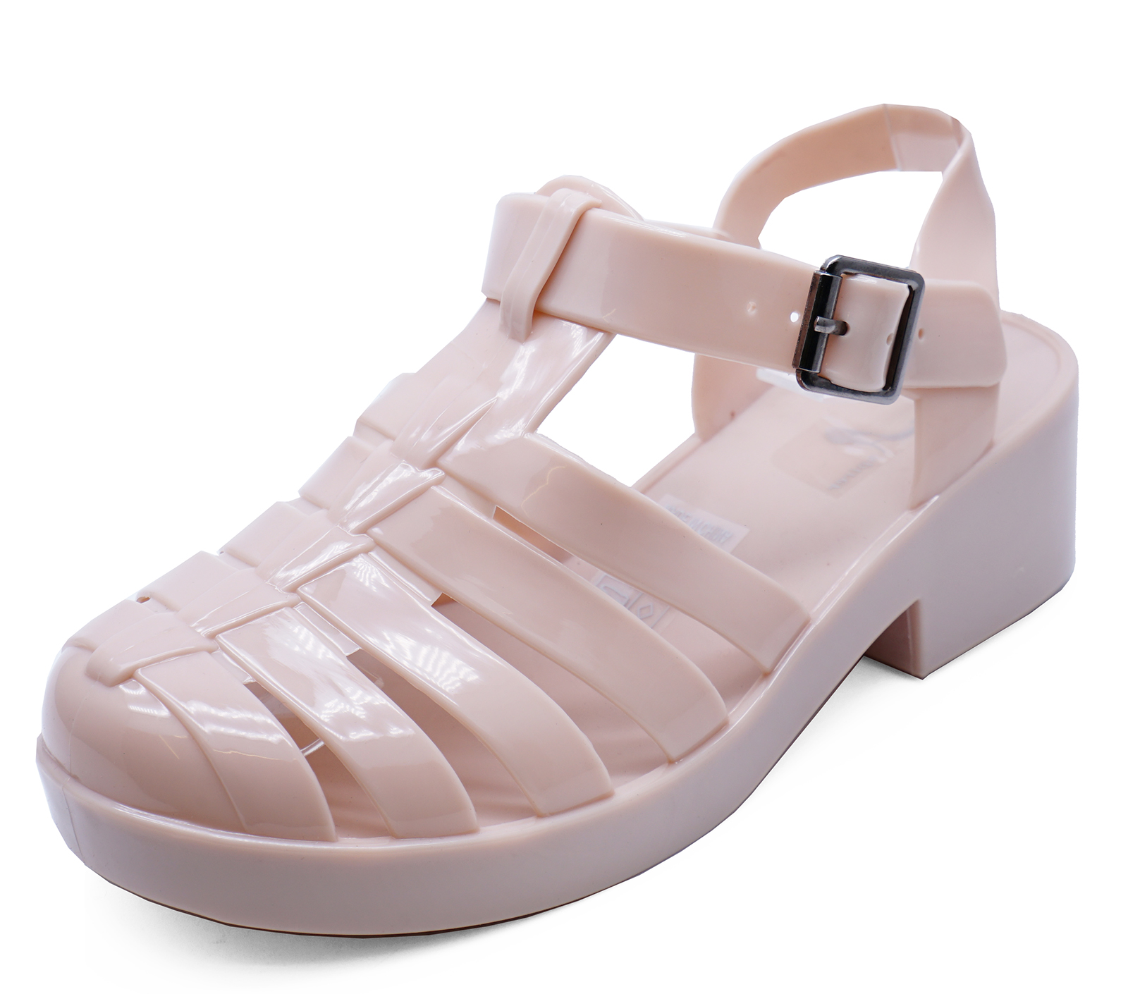 642c94e3ee0 Sentinel GIRLS KIDS NUDE JELLY GLADIATOR SANDALS BEACH HOLIDAY CUTE CHILDRENS  SHOES 11-3