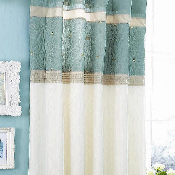 faux silk pencil pleat curtains | memsaheb.net