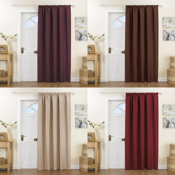 Thermal Lined Door Curtains Uk Curtain Menzilperde Net