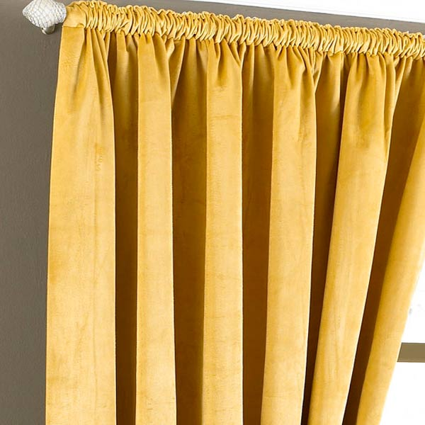 luxurious red heavyweight velvet 90x90 lined pencil pleat curtain drapes