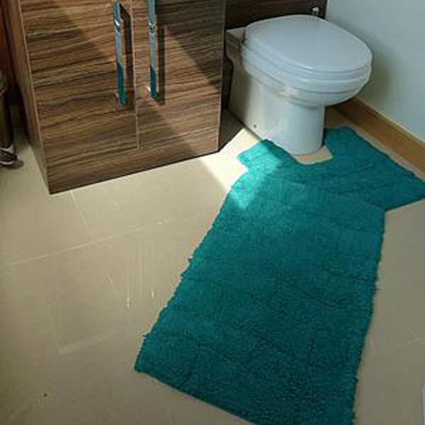 Emma Barclay Waves Cotton Chenille Bath Mat Pedestal Mat Set Ebay