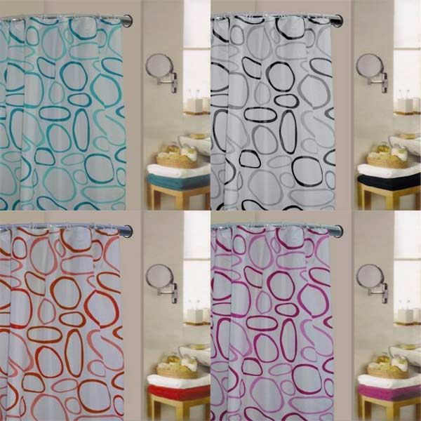 Sentinel Linens Limited Pebble Polyester Shower Curtain
