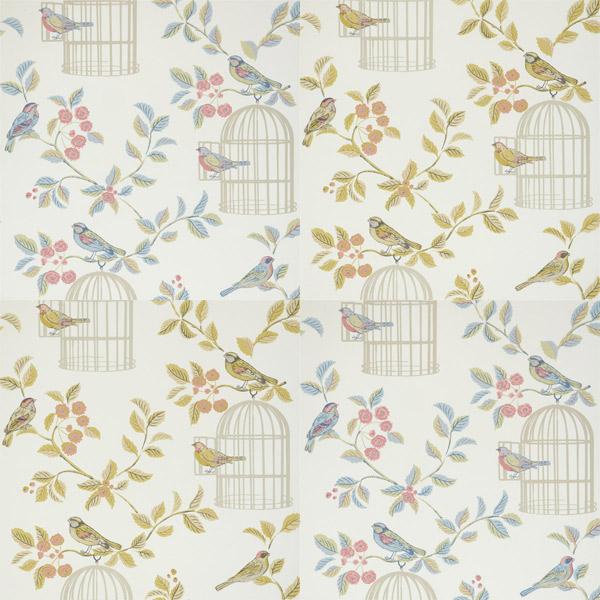 iliv shabby chic song bird wallpaper ebay rh ebay co uk shabby chic wallpaper roses shabby chic wall paper borders