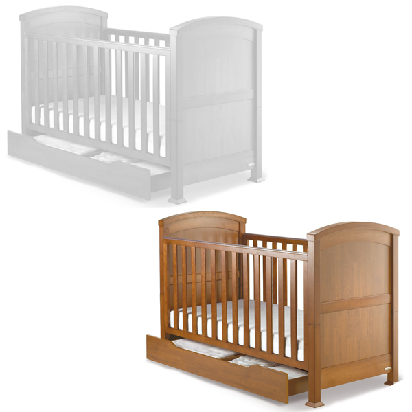 Sentinel Izziwotnot Tranquillity  Piece Cot Bed Under Drawer Set