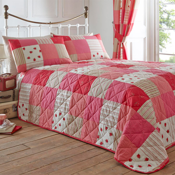 bedding free fay bath shipping floral product patchwork piece comforter today quilt set