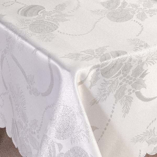 Linens Limited Angelica Christmas Tablecloth Ebay