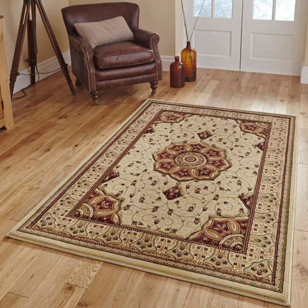 Think Rugs Heritage 4400 Traditional Hand Carved Rug
