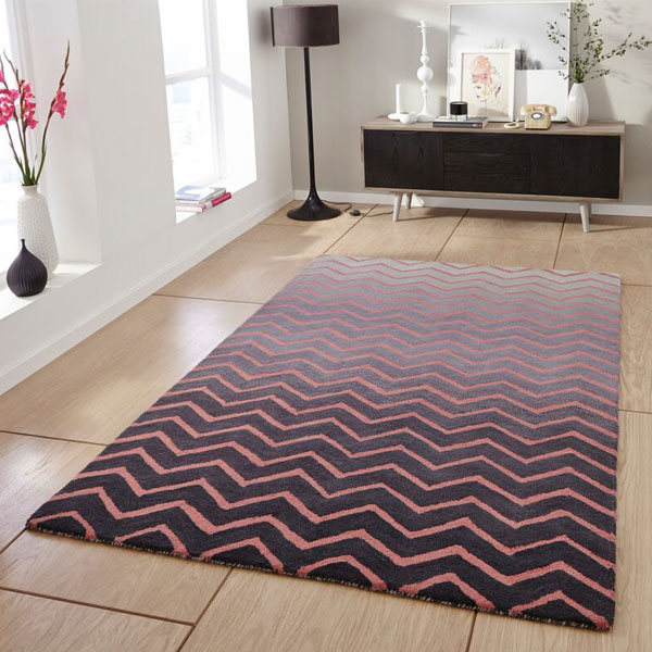 Think Rugs Spectrum Sp22 100 Wool Indian Hand