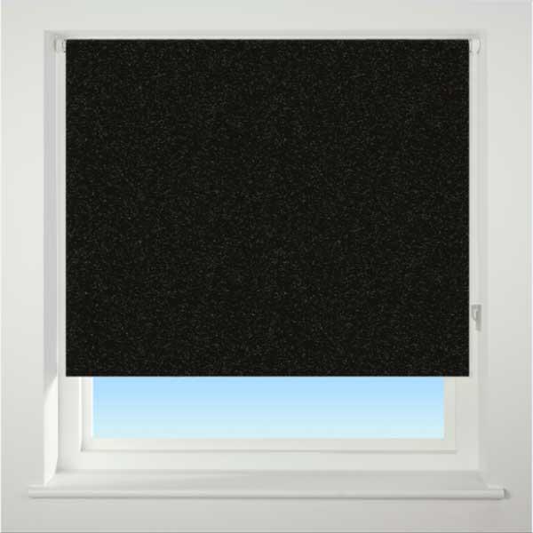 Universal Textured Thermal Blackout Roller Blind Ebay