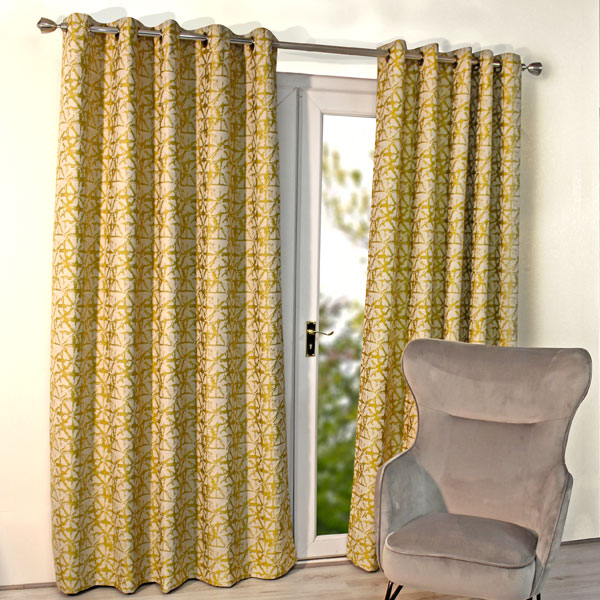 Scatter Box Sigma Chenille Jacquard Lined Eyelet Curtains Curtains Curtains 79c4ef