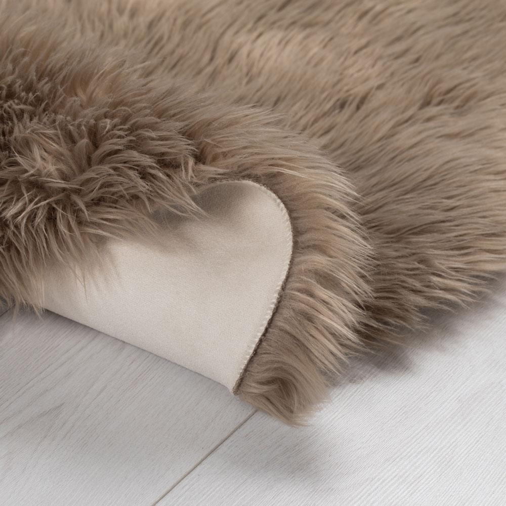 Peau Fausse Fourrure-Tapis Superbe kuhflecken-motif COUNTRY-Flair méprendre vraiment