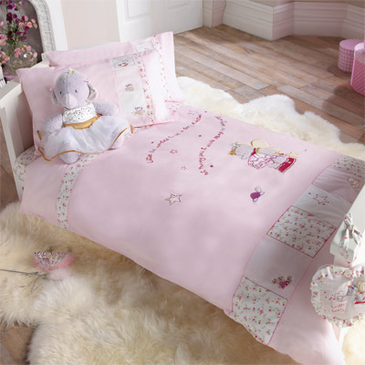 Butterfly Cot Bed Duvet Set