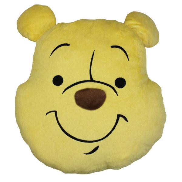 Disney Winnie The Pooh Head Shaped Filled Cushion, Multi ...