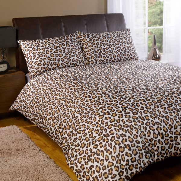 Dreamscene Leopard Duvet Cover Set