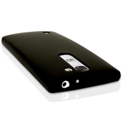 iGadgitz Glossy TPU Gel Skin Case Cover for LG G4C H525N + Screen Protector Thumbnail 3