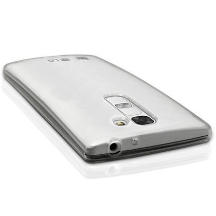 iGadgitz Glossy TPU Gel Skin Case Cover for LG G4C H525N + Screen Protector Thumbnail 2