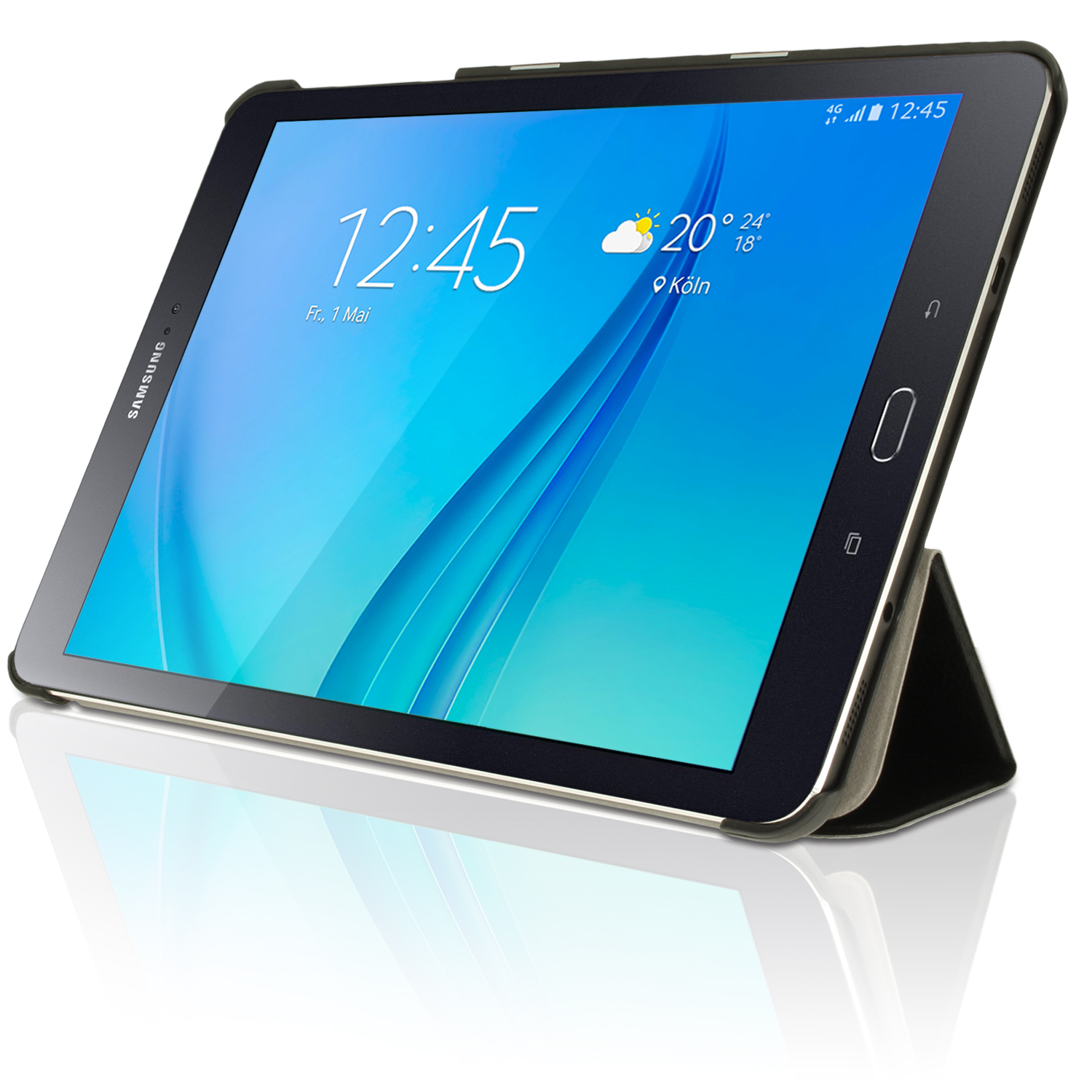 PU Leather Smart Cover for Samsung Galaxy Tab S2 9.7