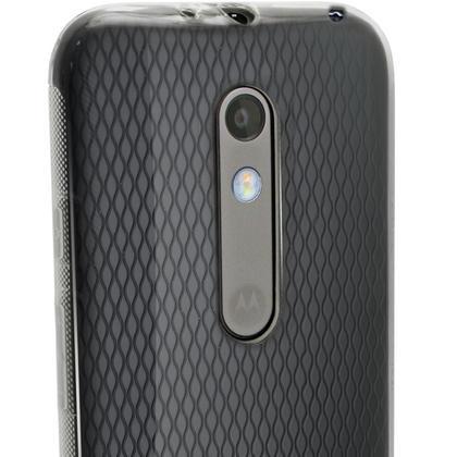 iGadgitz Glossy TPU Gel Skin Case Cover for Motorola Moto X Play XT1562 + Screen Protector Thumbnail 2