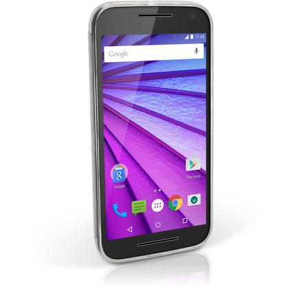 iGadgitz Glossy TPU Gel Skin Case Cover for Motorola Moto X Play XT1562 + Screen Protector Thumbnail 4