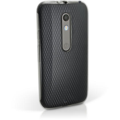 iGadgitz Glossy TPU Gel Skin Case Cover for Motorola Moto X Play XT1562 + Screen Protector Thumbnail 3