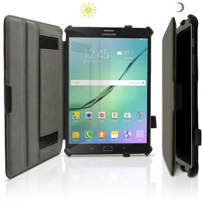 iGadgitz PU Leather Case Cover for Samsung Galaxy Tab S2 8'' SM-T710 with Stand + Sleep Wake + Screen Protector Thumbnail 4