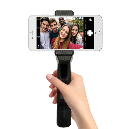 iGadgitz 2 in 1 Pistol Grip Stabilizer and Mini Table Top Stand Tripod + Universal Smartphone Holder Mount Bracket Thumbnail 5