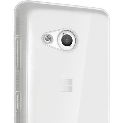 iGadgitz Glossy TPU Gel Skin Case Cover for Microsoft Lumia 550 + Screen Protector Thumbnail 2