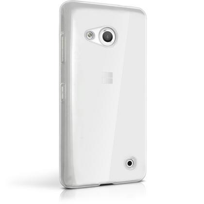 iGadgitz Glossy TPU Gel Skin Case Cover for Microsoft Lumia 550 + Screen Protector Thumbnail 4