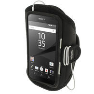 iGadgitz Water Resistant Sports Jogging Gym Armband for Sony Xperia Z5 Compact E5803 E5823