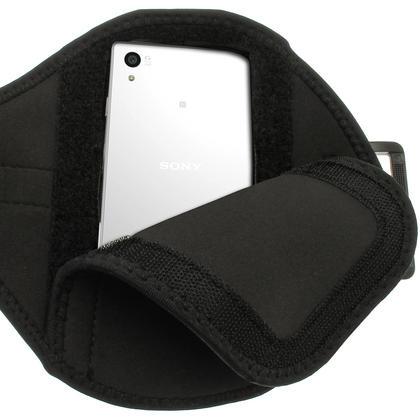 iGadgitz Water Resistant Sports Jogging Gym Armband for Sony Xperia Z5 E6603 E6653 Thumbnail 3