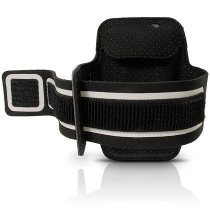 iGadgitz Reflective Anti-Slip Sports Jogging Gym Armband for Sony Xperia Z5 E6603 E6653 with Key Slot Thumbnail 4