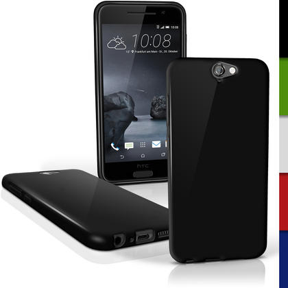 iGadgitz Glossy TPU Gel Skin Case Cover for HTC One A9 (2015) + Screen Protector Thumbnail 2