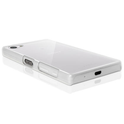 iGadgitz Clear PC Hard Case Cover Shell for Sony Xperia Z5 Compact E5803 E5823 + Screen Proctector Thumbnail 2