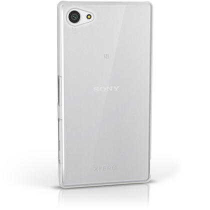 iGadgitz Clear PC Hard Case Cover Shell for Sony Xperia Z5 Compact E5803 E5823 + Screen Proctector Thumbnail 4