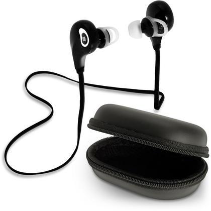 iGadgitz IGX-470S Wireless Bluetooth 4.1 Lightweight Stereo Sports In-ear Earphones Headphones with Case & Ear Hooks Thumbnail 1