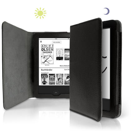 iGadgitz PU Leather Case Cover for Tolino Vision 3 HD, Vision 2 &  Vision 1 with Sleep Wake Thumbnail 3