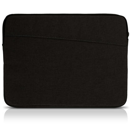 iGadgitz Canvas Fabric Sleeve Pouch Case Cover for 10.1 Inch Tablets (Apple iPad Acer Asus LG Pad Samsung Sony etc) Thumbnail 2
