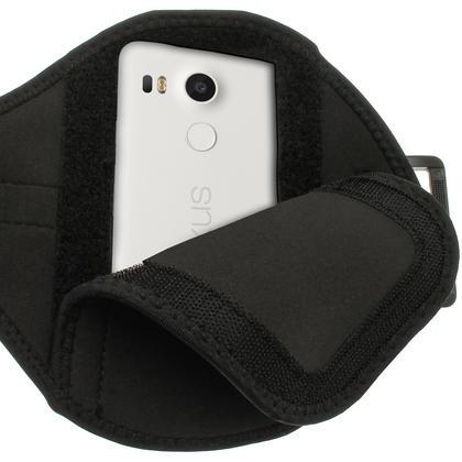 iGadgitz Water Resistant Sports Jogging Gym Armband for LG Nexus 5X 2015 Thumbnail 4