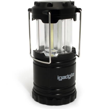 iGadgitz Xtra Lumin Compact 150lm COB LED Collapsible Lantern Portable Lamp Light with 1 Year Warranty Thumbnail 1