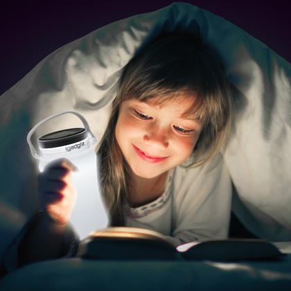 iGadgitz Lumin Solar Glow 100lm USB Rechargeable & Solar LED Lantern Waterproof Storage Bottle Light + 2 Year Warranty Thumbnail 6