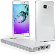 iGadgitz Glossy TPU Gel Skin Case Cover for Samsung Galaxy A3 2016 SM-A310 + Screen Protector