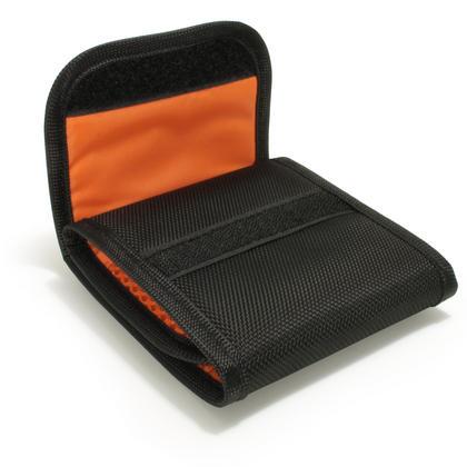 iGadgitz 3 Pocket Slot Bag Pouch Holder Storage Case for SLR DSLR Camera Lens Filters Thumbnail 6